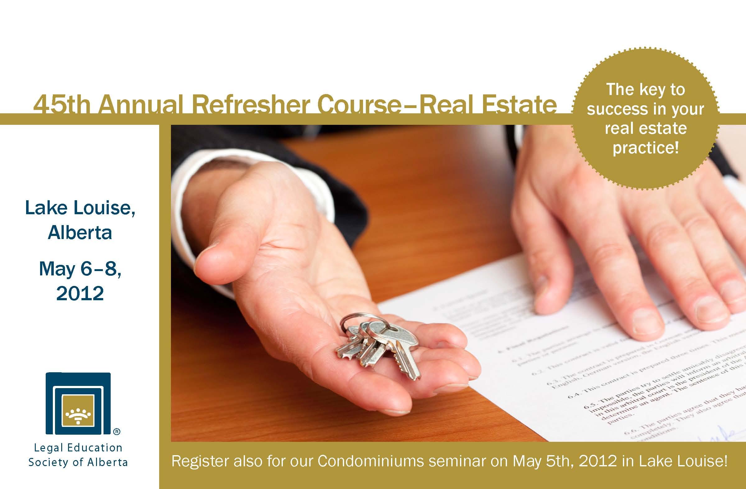 LESA Refresher Course 2012