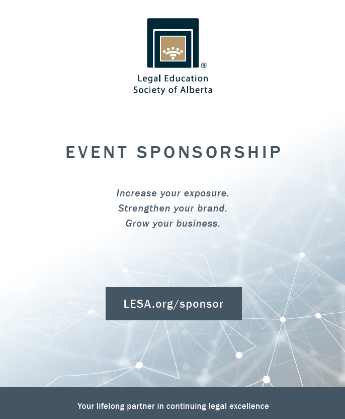 Click to learn about LESA event sponsorship.